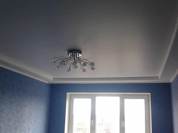 Фото самого простого потолка из гипсокартона